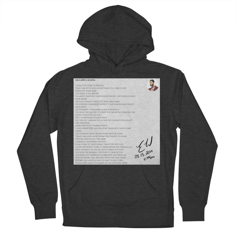 08.13.2019 x 11:44PM Women's French Terry Pullover Hoody by Eric Washington's Merch Shop