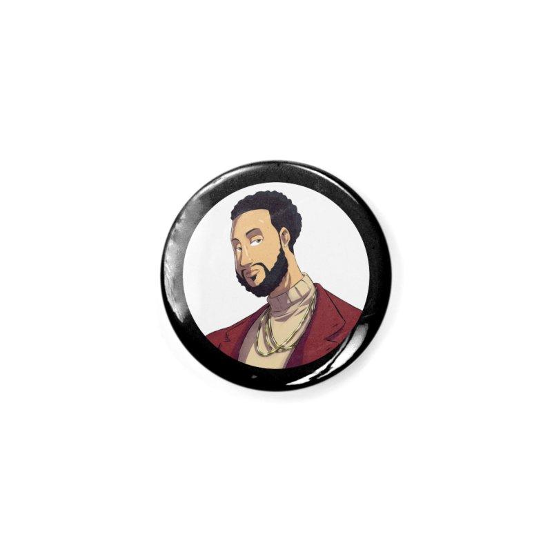 Portrait | Created by @cknightart Accessories Button by Eric Washington's Merch Shop