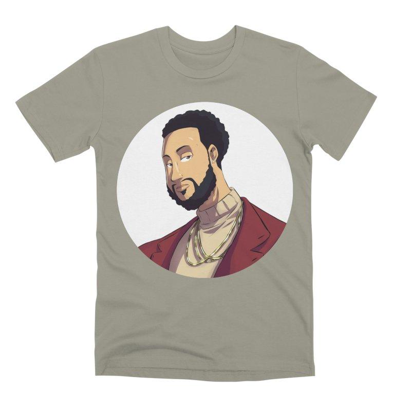 Portrait   Created by @cknightart Men's Premium T-Shirt by Eric Washington's Merch Shop