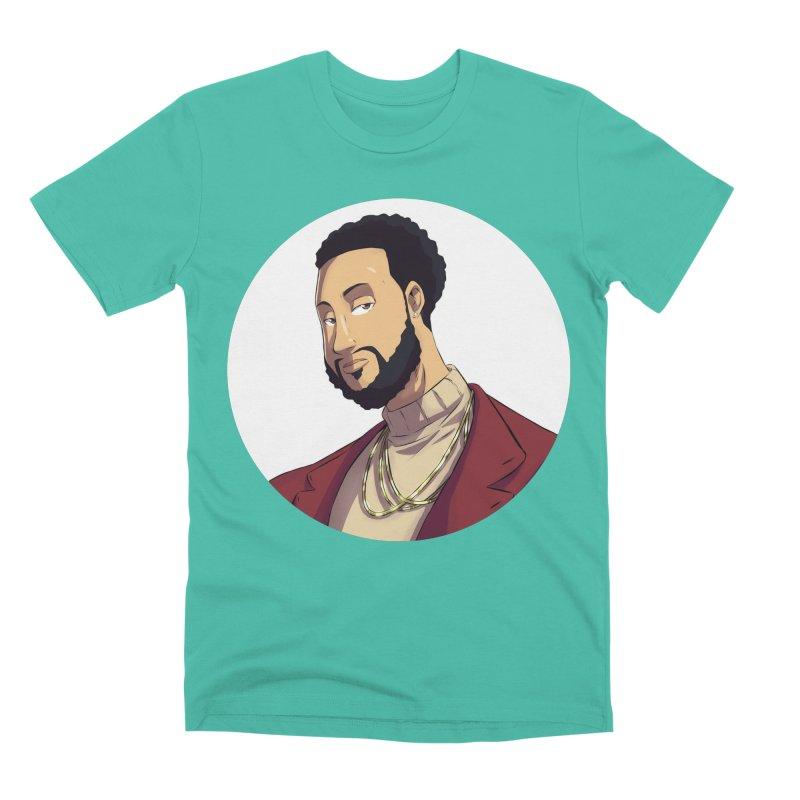 Portrait | Created by @cknightart Men's Premium T-Shirt by Eric Washington's Merch Shop