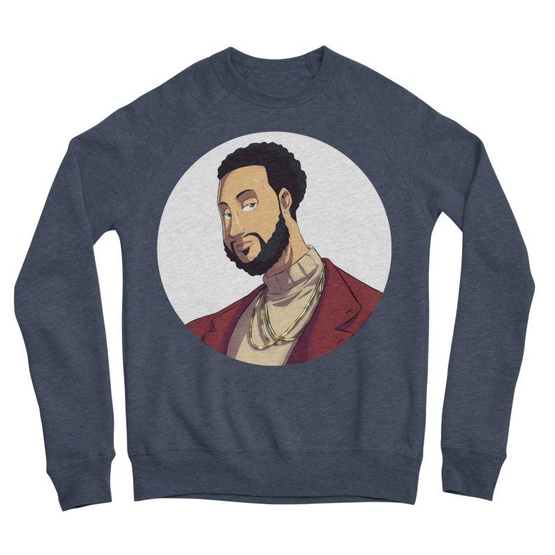 Portrait | Created by @cknightart Men's Sponge Fleece Sweatshirt by Eric Washington's Merch Shop