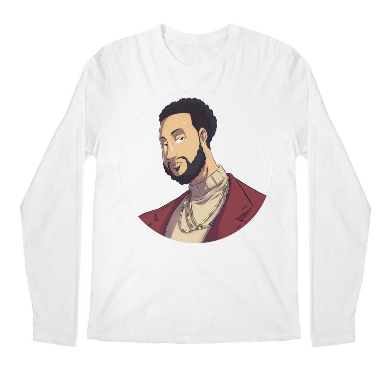 Portrait | Created by @cknightart Men's Regular Longsleeve T-Shirt by Eric Washington's Merch Shop