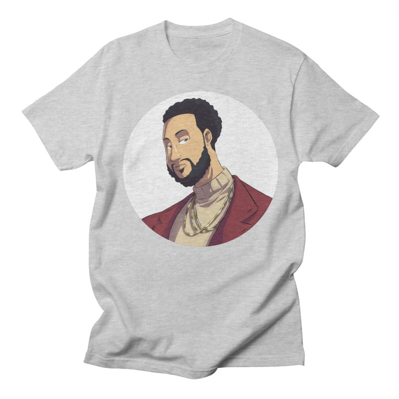Portrait | Created by @cknightart Men's Regular T-Shirt by Eric Washington's Merch Shop