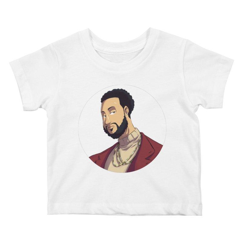 Portrait | Created by @cknightart Kids Baby T-Shirt by Eric Washington's Merch Shop