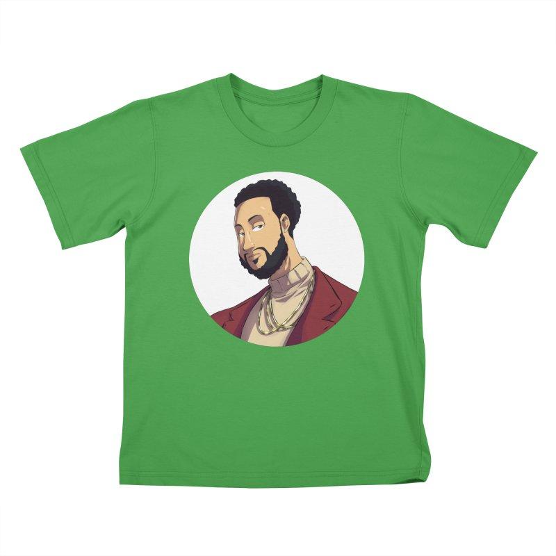 Portrait | Created by @cknightart Kids T-Shirt by Eric Washington's Merch Shop
