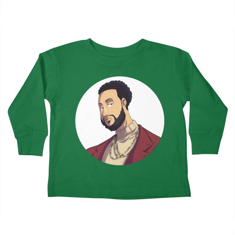 Portrait | Created by @cknightart Kids Toddler Longsleeve T-Shirt by Eric Washington's Merch Shop