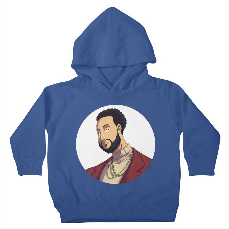 Portrait | Created by @cknightart Kids Toddler Pullover Hoody by Eric Washington's Merch Shop