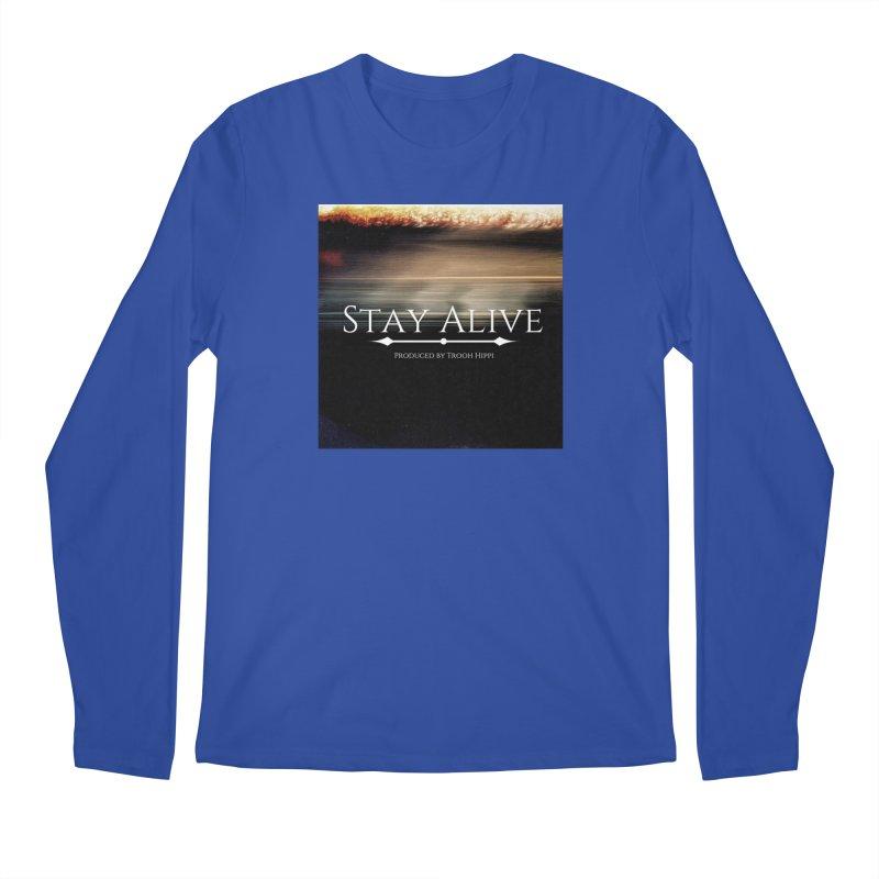 Stay Alive Men's Regular Longsleeve T-Shirt by Eric Washington's Merch Shop