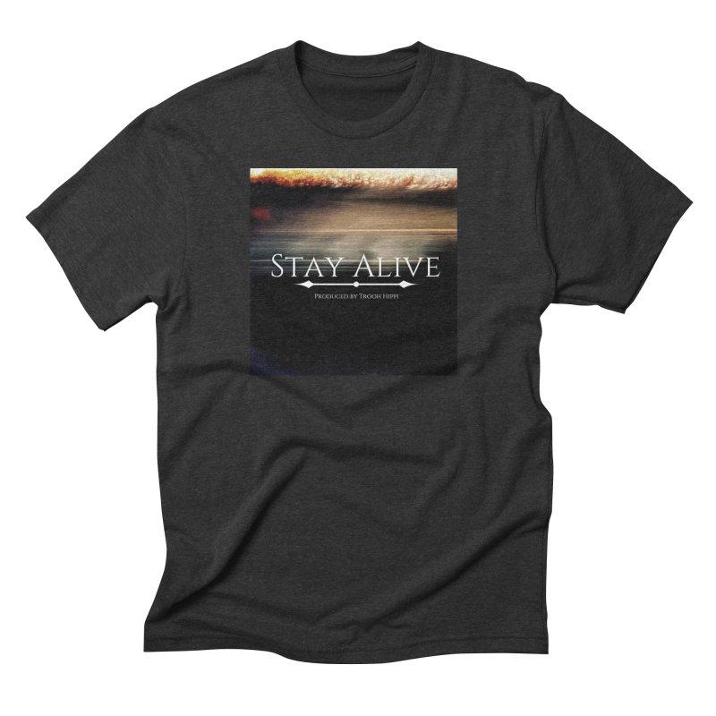 Stay Alive Men's Triblend T-Shirt by Eric Washington's Merch Shop