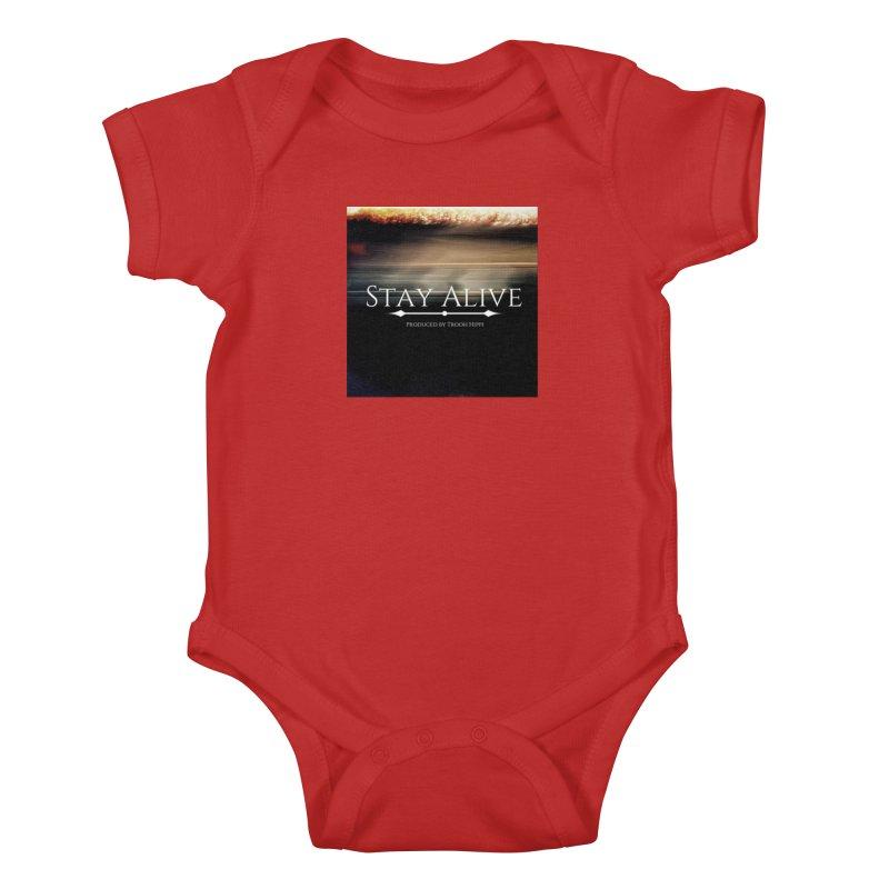 Stay Alive Kids Baby Bodysuit by Eric Washington's Merch Shop