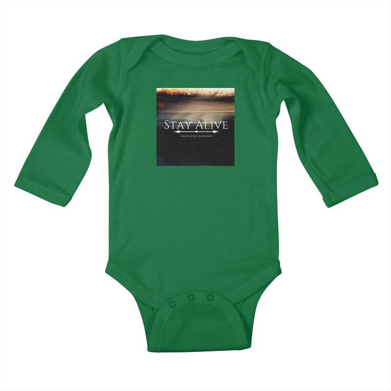 Stay Alive Kids Baby Longsleeve Bodysuit by Eric Washington's Merch Shop