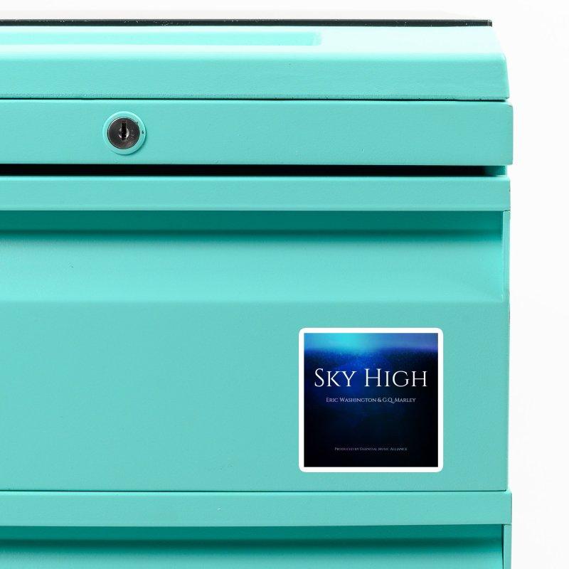 Sky High Accessories Magnet by Eric Washington's Merch Shop