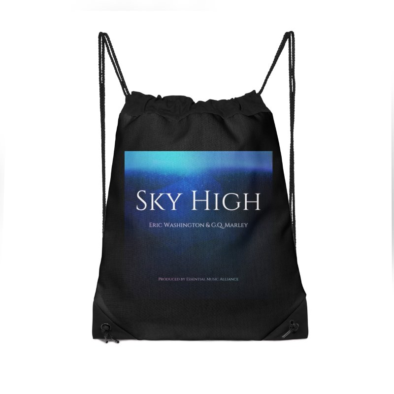 Sky High Accessories Drawstring Bag Bag by Eric Washington's Merch Shop