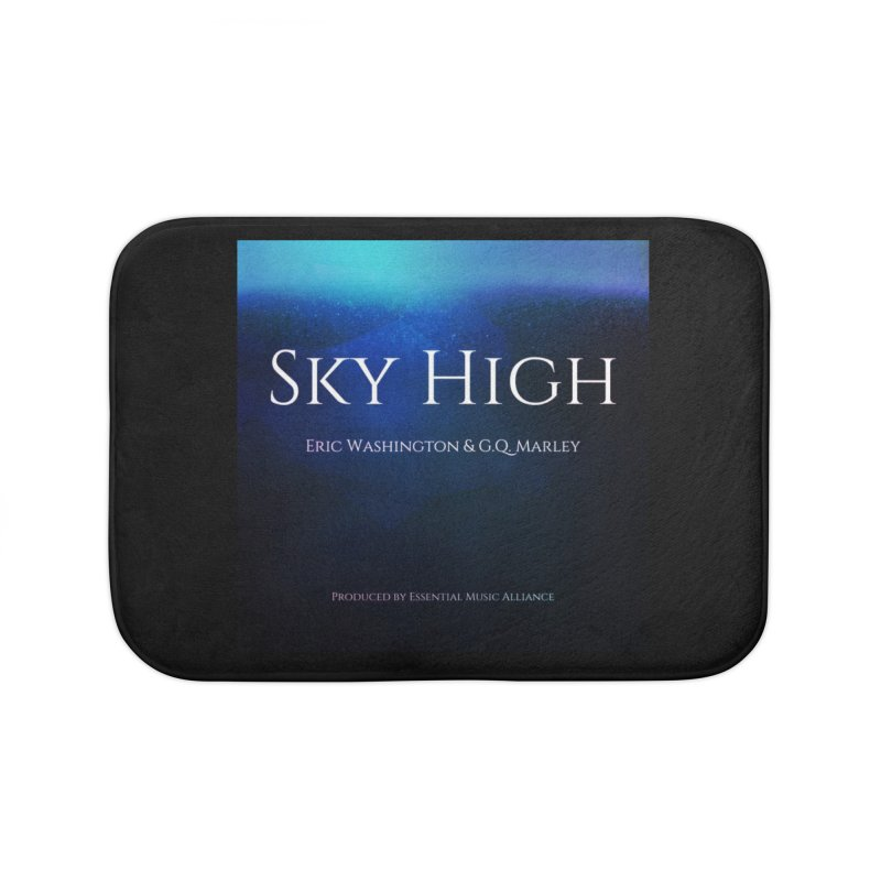 Sky High Home Bath Mat by Eric Washington's Merch Shop