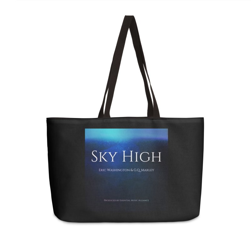 Sky High Accessories Weekender Bag Bag by Eric Washington's Merch Shop