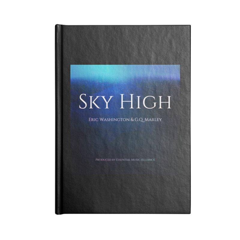 Sky High Accessories Blank Journal Notebook by Eric Washington's Merch Shop
