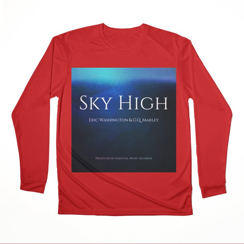 Sky High Men's Performance Longsleeve T-Shirt by Eric Washington's Merch Shop