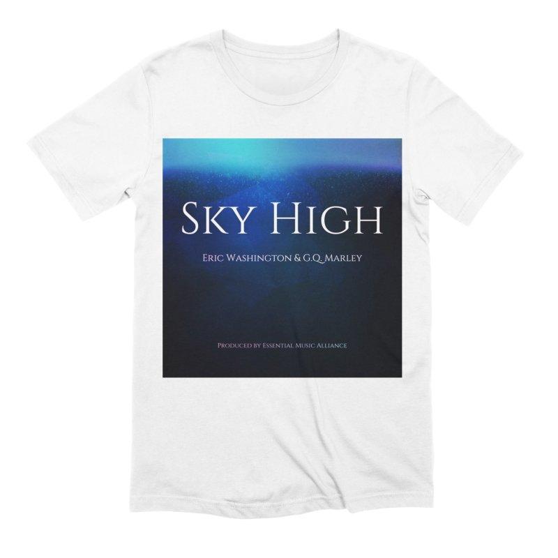 Sky High Men's Extra Soft T-Shirt by Eric Washington's Merch Shop