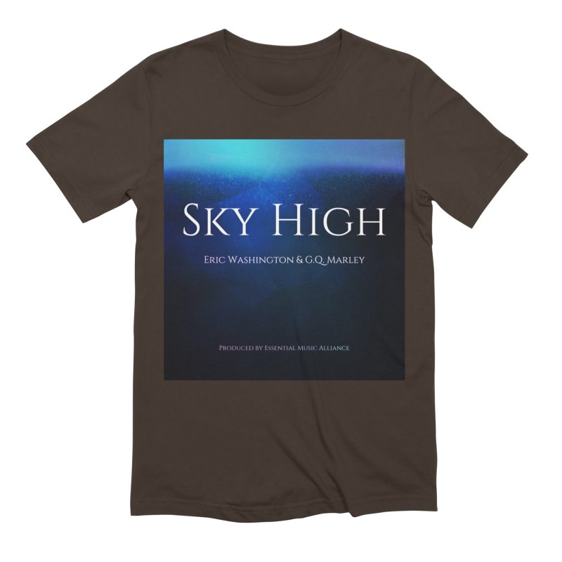 Sky High Men's Extra Soft T-Shirt by Eric Washington's Merch Shop