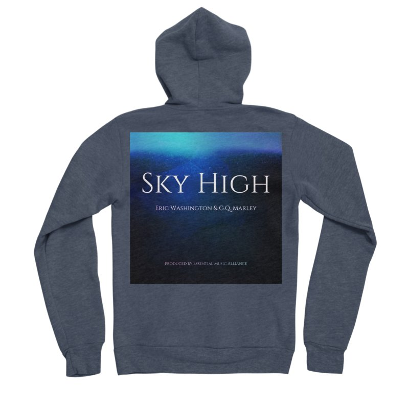 Sky High Men's Sponge Fleece Zip-Up Hoody by Eric Washington's Merch Shop