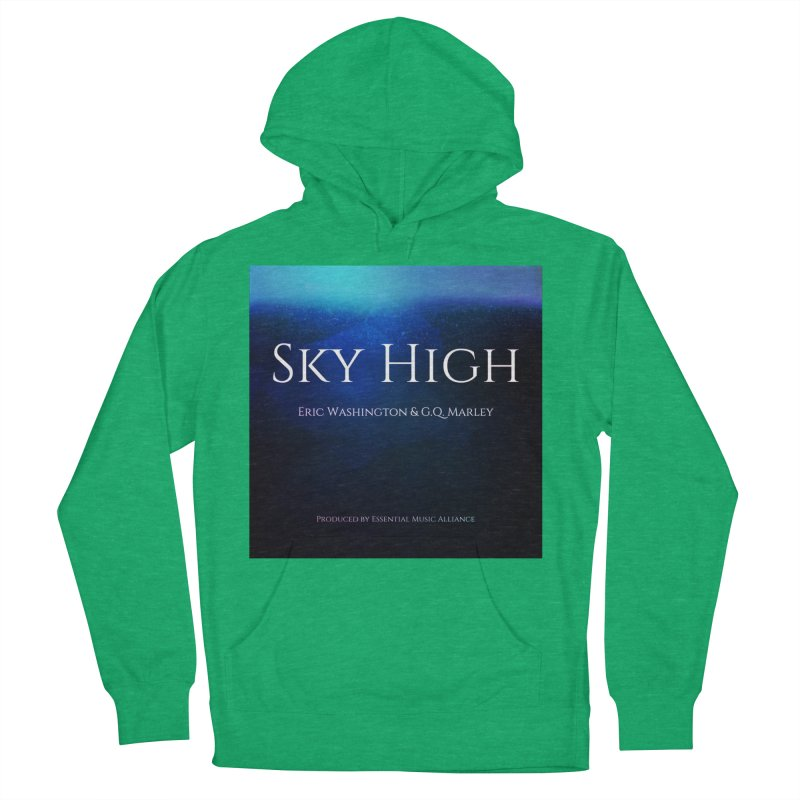 Sky High Men's French Terry Pullover Hoody by Eric Washington's Merch Shop