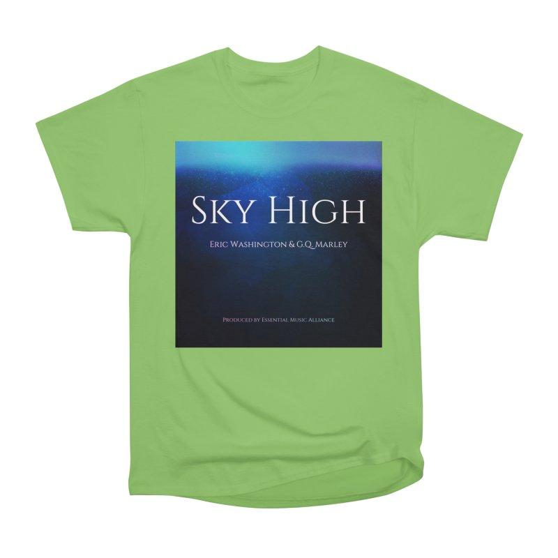 Sky High Women's Heavyweight Unisex T-Shirt by Eric Washington's Merch Shop