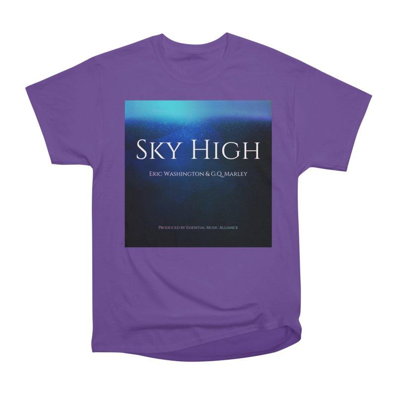 Sky High Men's Heavyweight T-Shirt by Eric Washington's Merch Shop