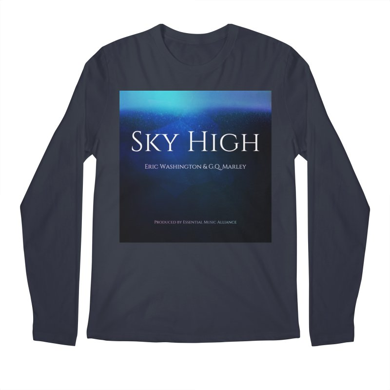 Sky High Men's Regular Longsleeve T-Shirt by Eric Washington's Merch Shop