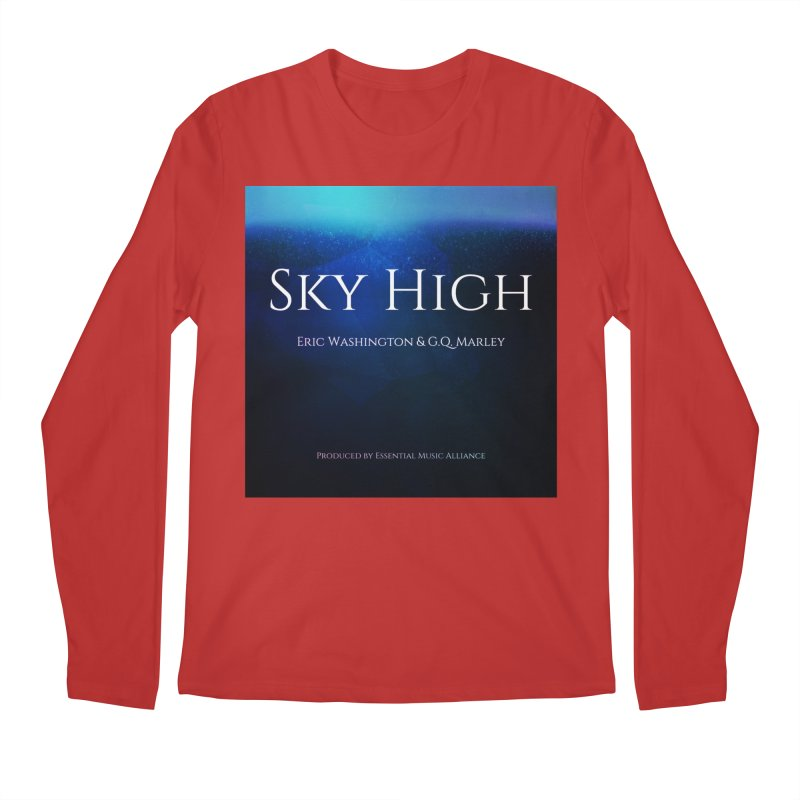 Sky High Men's Regular Longsleeve T-Shirt by Eric Washington's Merch Shop