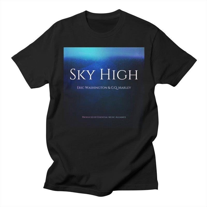 Sky High Men's Regular T-Shirt by Eric Washington's Merch Shop
