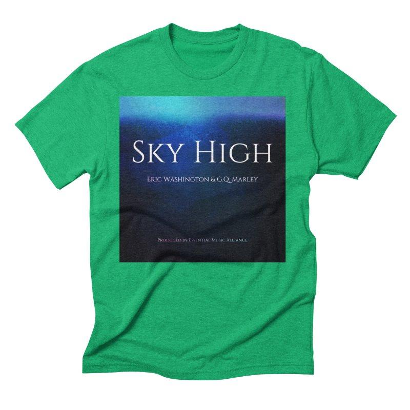 Sky High Men's Triblend T-Shirt by Eric Washington's Merch Shop
