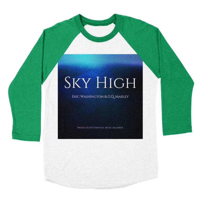Sky High Men's Baseball Triblend Longsleeve T-Shirt by Eric Washington's Merch Shop