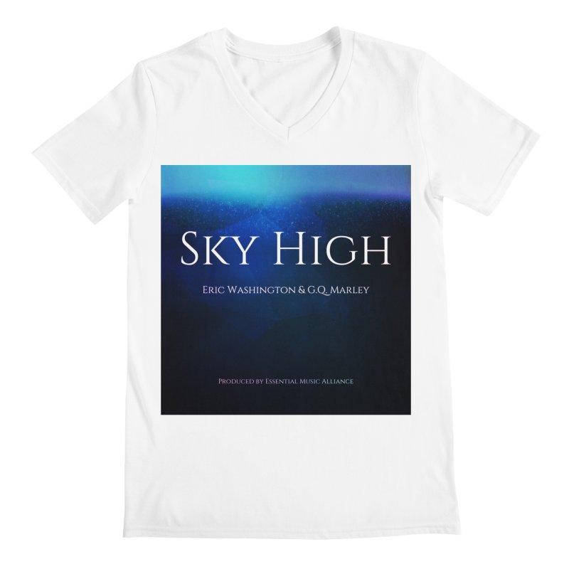 Sky High Men's V-Neck by Eric Washington's Merch Shop