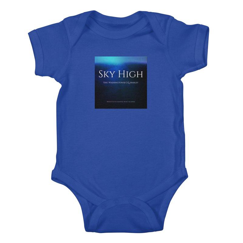 Sky High Kids Baby Bodysuit by Eric Washington's Merch Shop