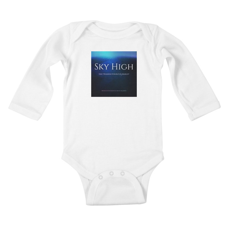 Sky High Kids Baby Longsleeve Bodysuit by Eric Washington's Merch Shop