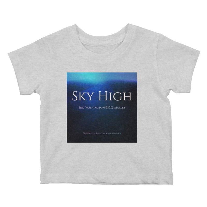 Sky High Kids Baby T-Shirt by Eric Washington's Merch Shop