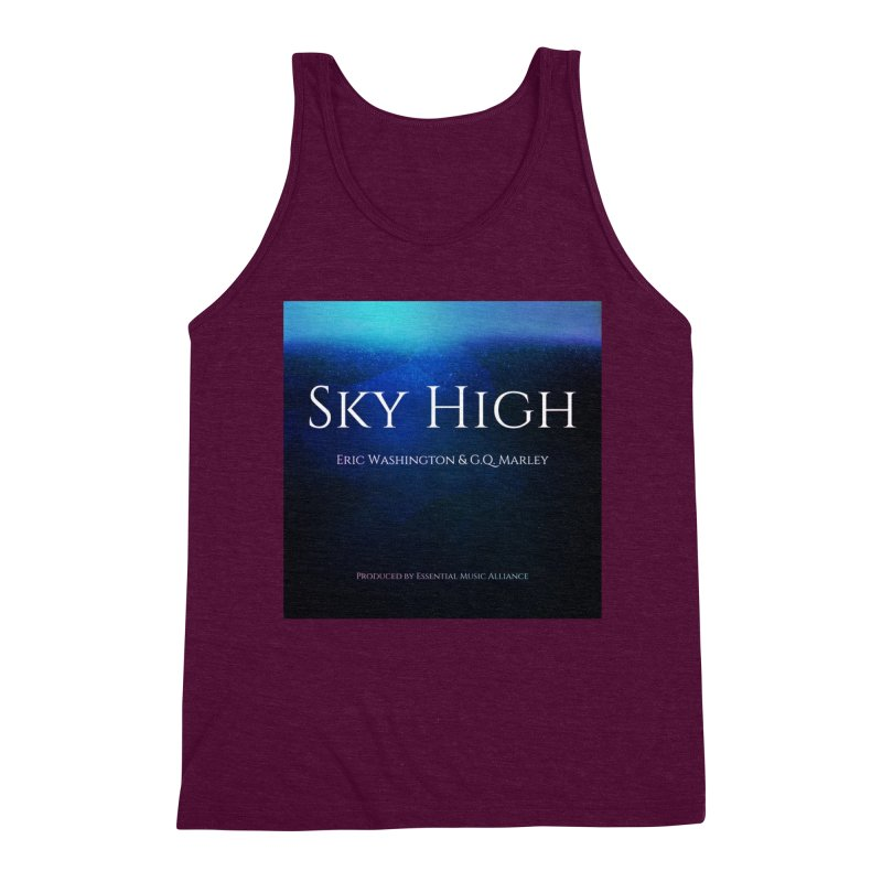 Sky High Men's Triblend Tank by Eric Washington's Merch Shop