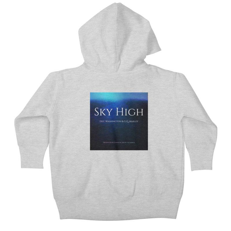 Sky High Kids Baby Zip-Up Hoody by Eric Washington's Merch Shop