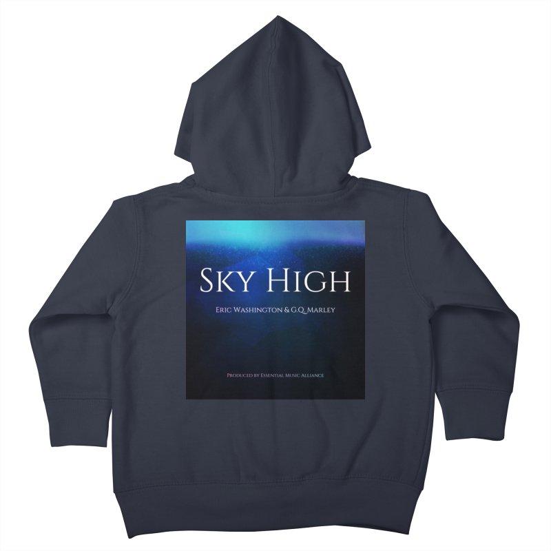 Sky High Kids Toddler Zip-Up Hoody by Eric Washington's Merch Shop