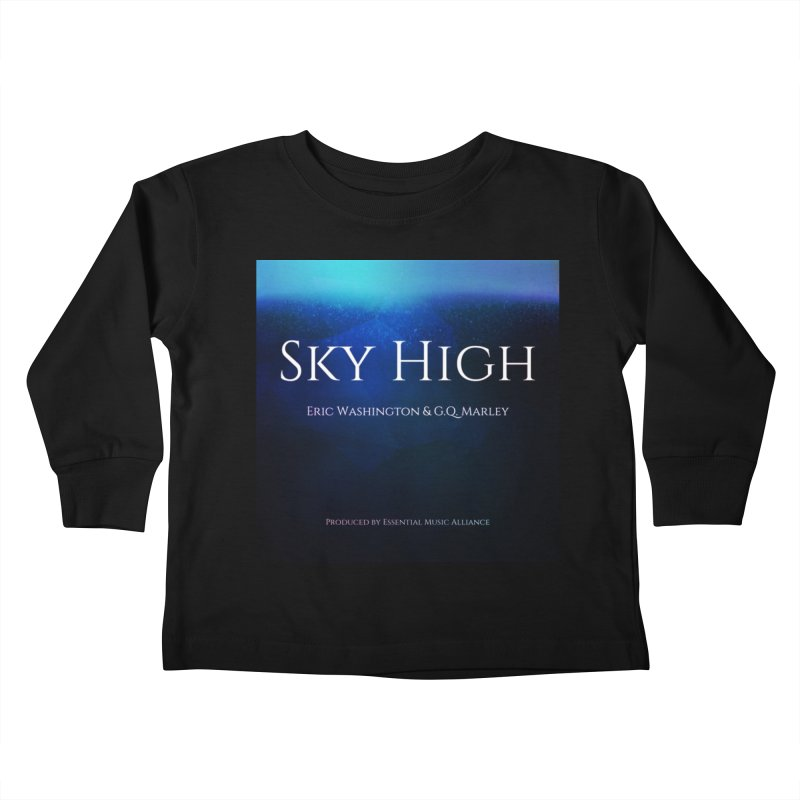 Sky High Kids Toddler Longsleeve T-Shirt by Eric Washington's Merch Shop