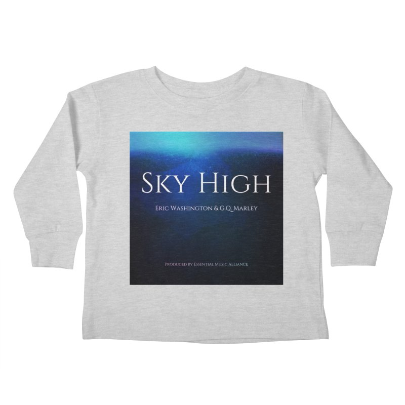 Sky High Kids Toddler Longsleeve T-Shirt by Eric Washington's Merch Shop