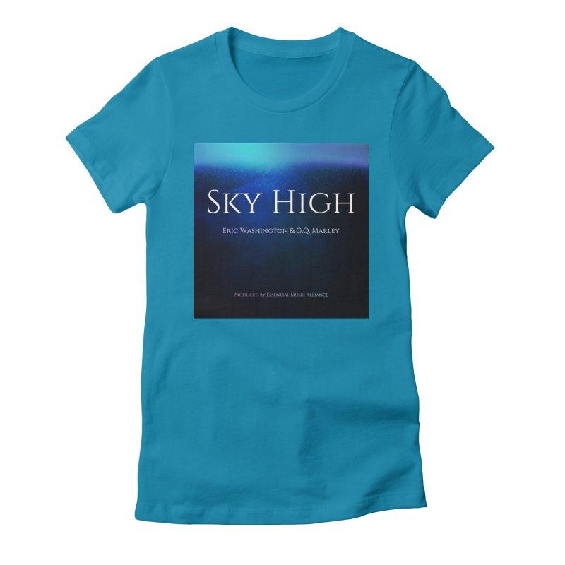 Sky High Women's Fitted T-Shirt by Eric Washington's Merch Shop