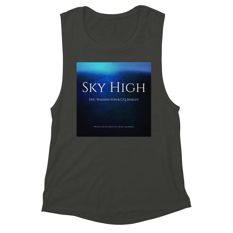 Sky High Women's Muscle Tank by Eric Washington's Merch Shop