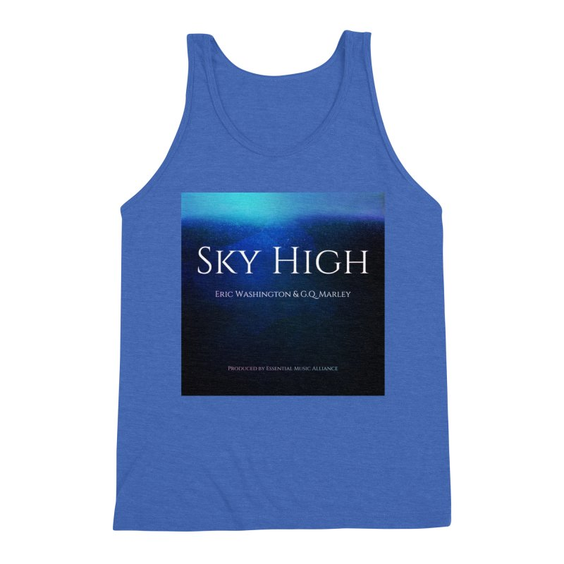 Sky High Men's Triblend Tank by Eric Washington's Merch Shop