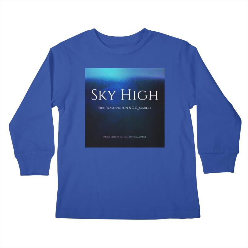 Sky High Kids Longsleeve T-Shirt by Eric Washington's Merch Shop