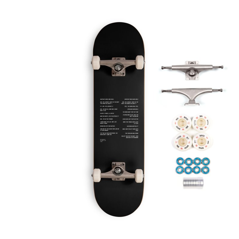 Lover Accessories Complete - Premium Skateboard by Eric Washington's Merch Shop