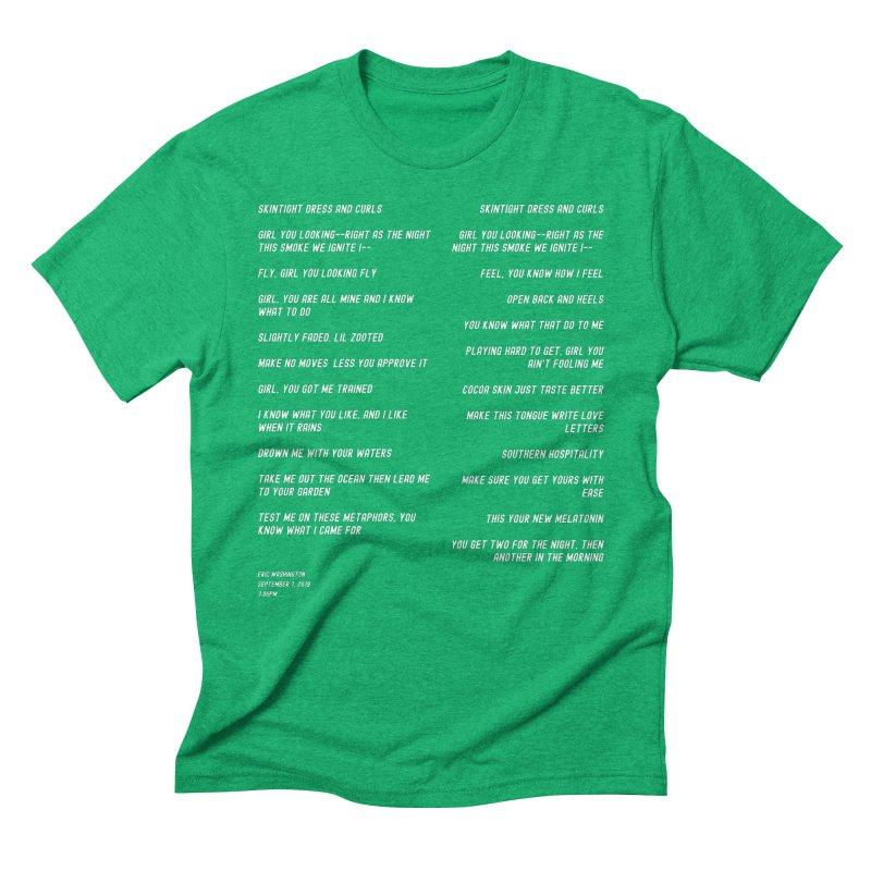 Lover Men's Triblend T-Shirt by Eric Washington's Merch Shop