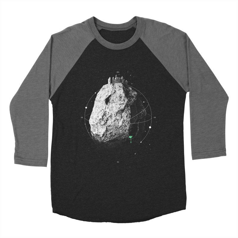 Castle of the Night Sky Women's Baseball Triblend T-Shirt by Eric Zelinski (EZFL)