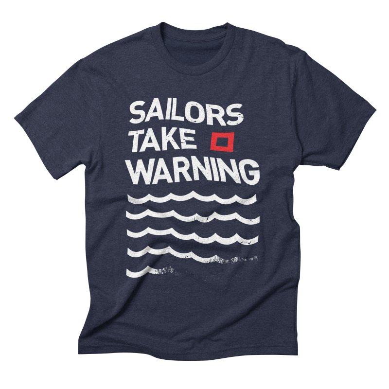 Red Sky Mornings Men's Triblend T-shirt by Eric Zelinski (EZFL)