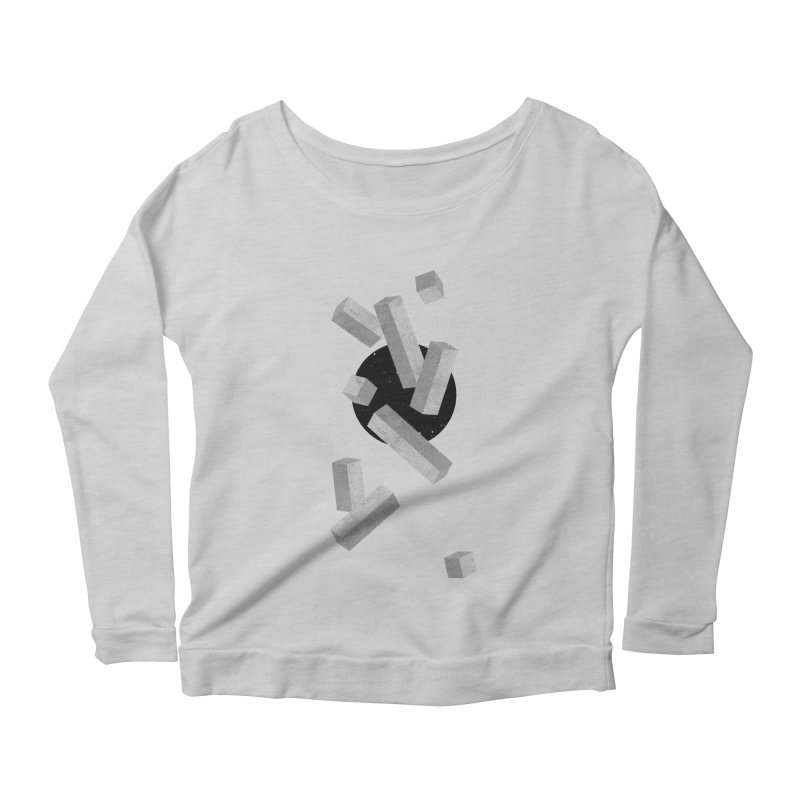 10 Items or Less Women's Longsleeve Scoopneck  by Eric Zelinski (EZFL)